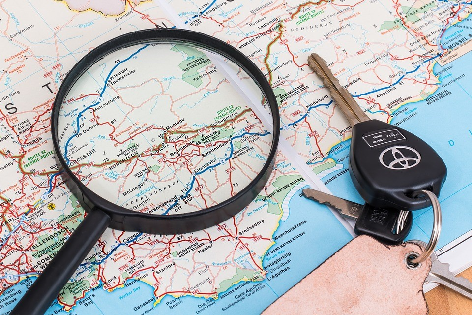 Map and keys for self employed person to get car financing