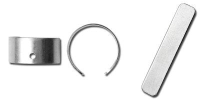 Sterling silver earring cuffs