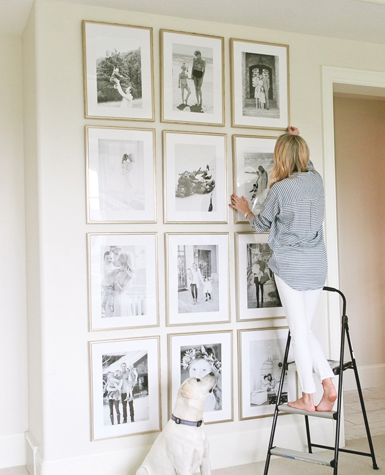 10 Ways to Style Large Framed Photos and Art