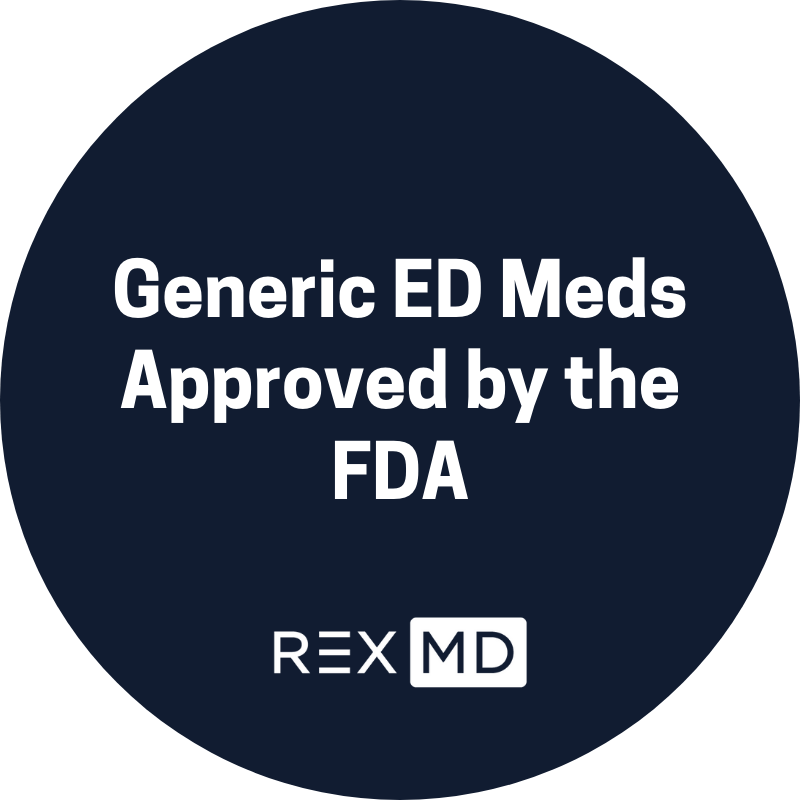 Generic ED Meds Approved By The FDA