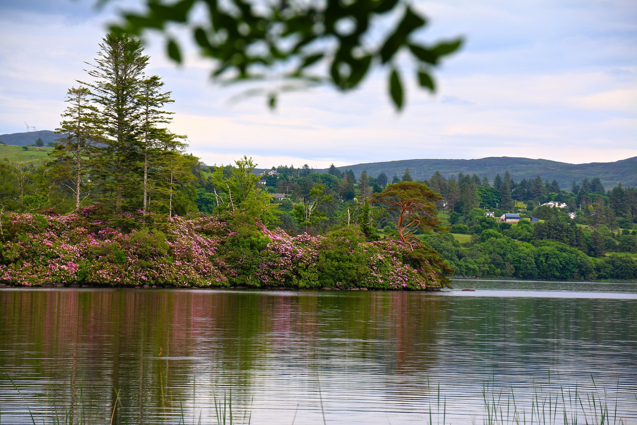 Exploring Lough Eske is an awesome thing to do in Donegal Ireland