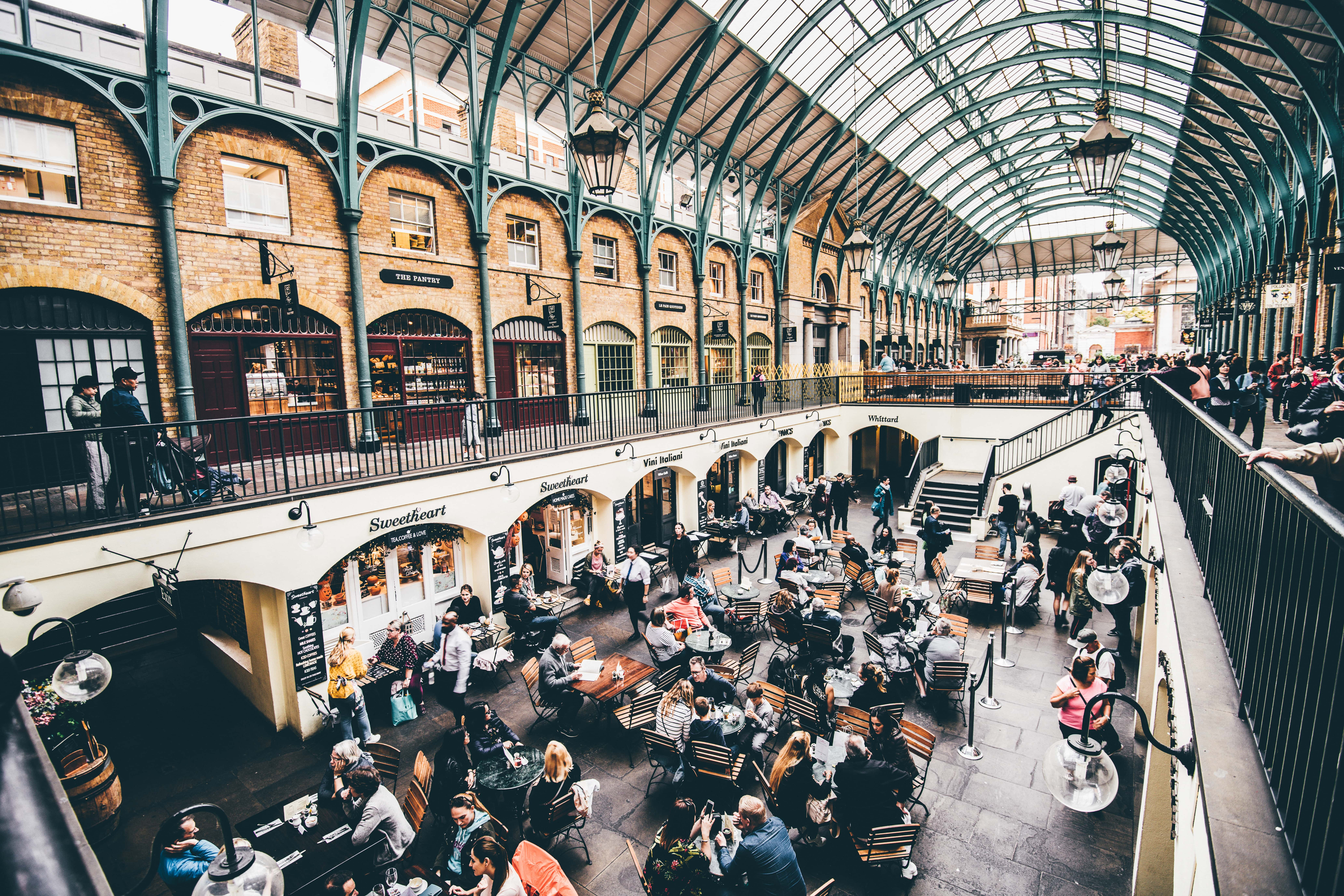 Covent Garden is where to stay if you want to be near London's entertainment district