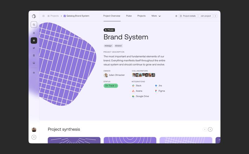 Qatalog product design