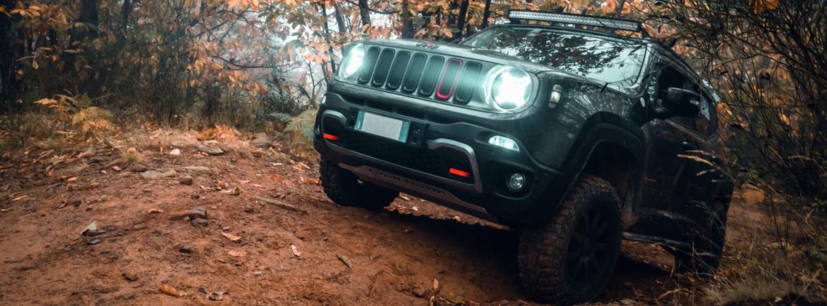 Jeep Renegade el modelo más pequeño de Jeep pero no menos poderoso