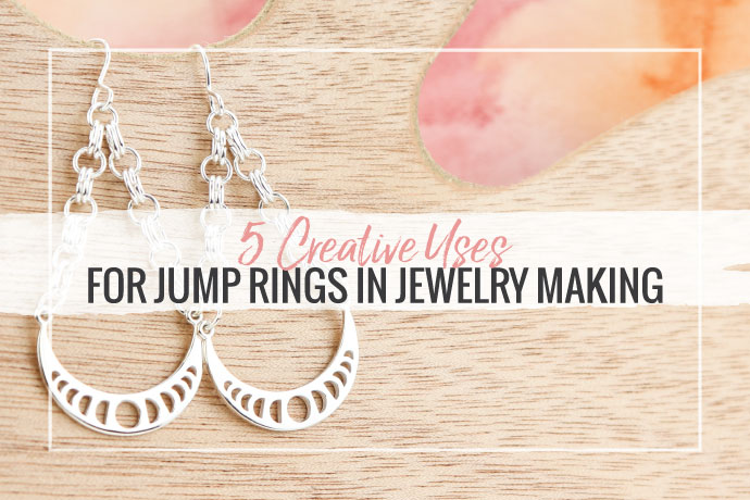Jump rings are a popular finding in jewelry making designs. Check out this article to find more simple ways to incorporate them into your pieces.
