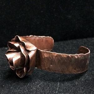 Fabricated Rose Cuff