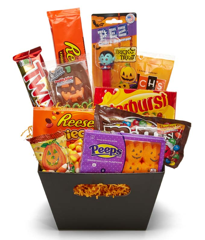 Trick or Treat Halloween Gift Basket