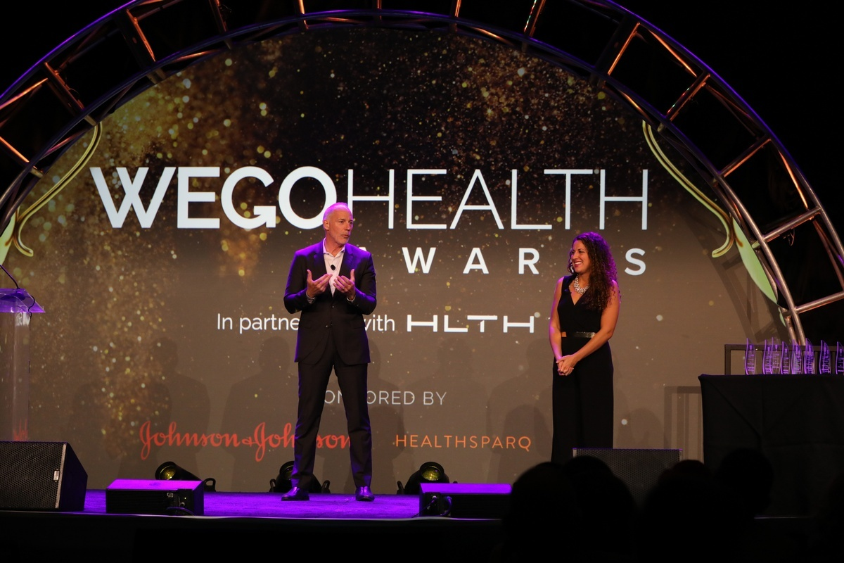 WEGO Health Awards banner