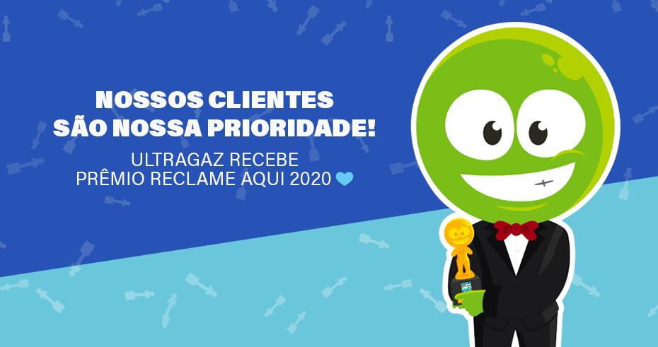 Ultragaz conquista Prêmio Reclame Aqui 2020