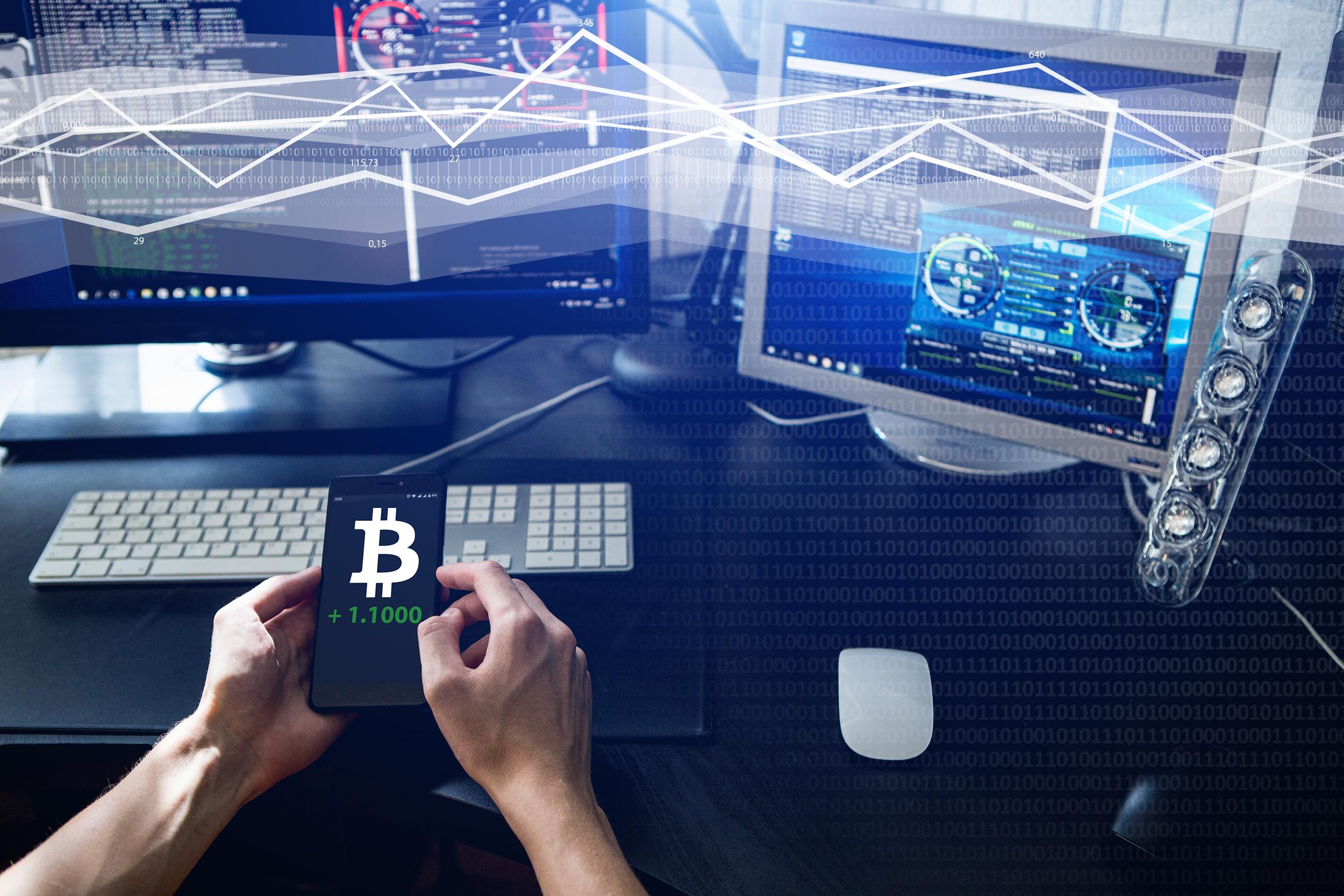 bitcoin trading at