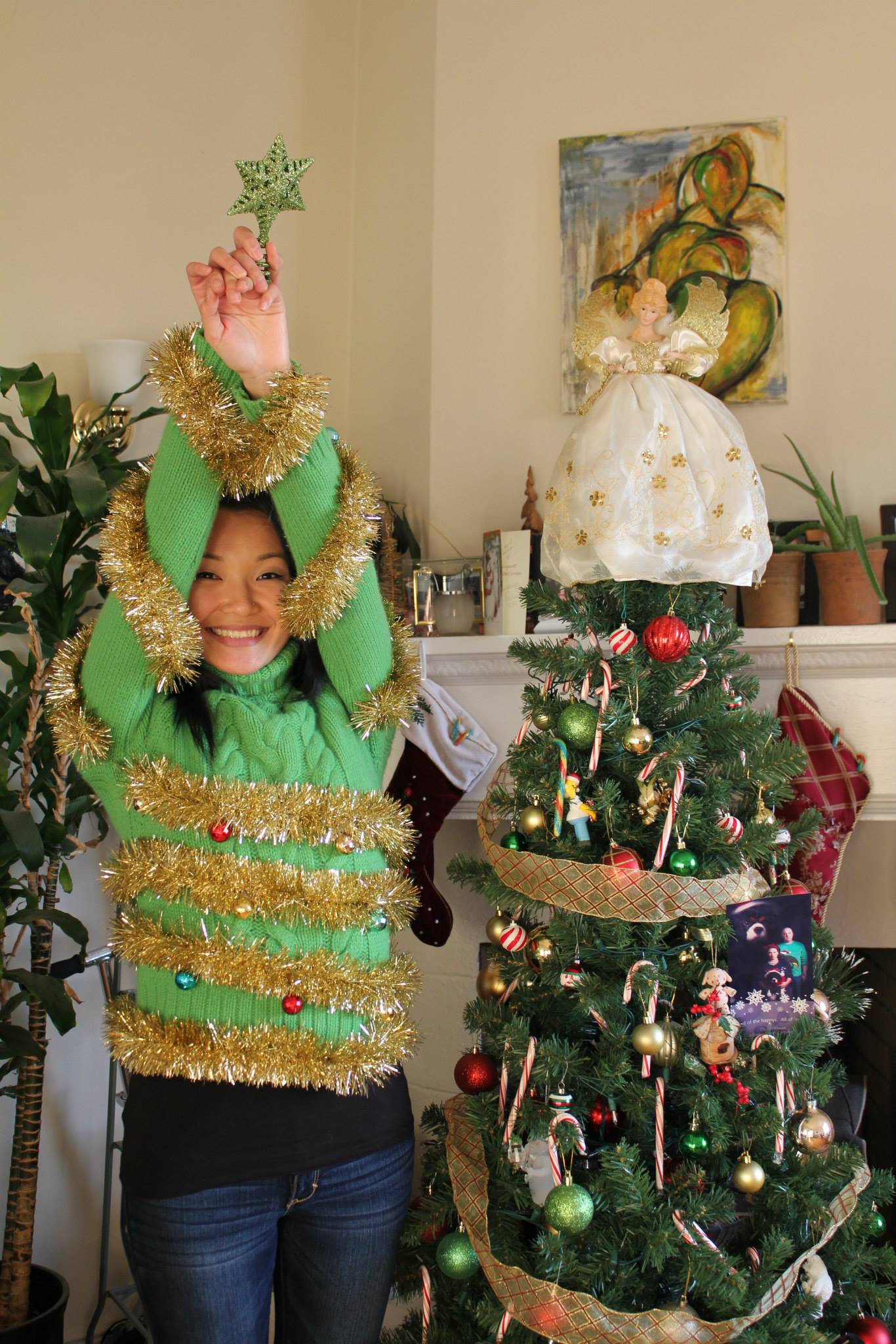 Liz Enjoying the Holidays