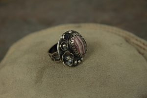 Cabochon Wire Ring by Kate Richbourg