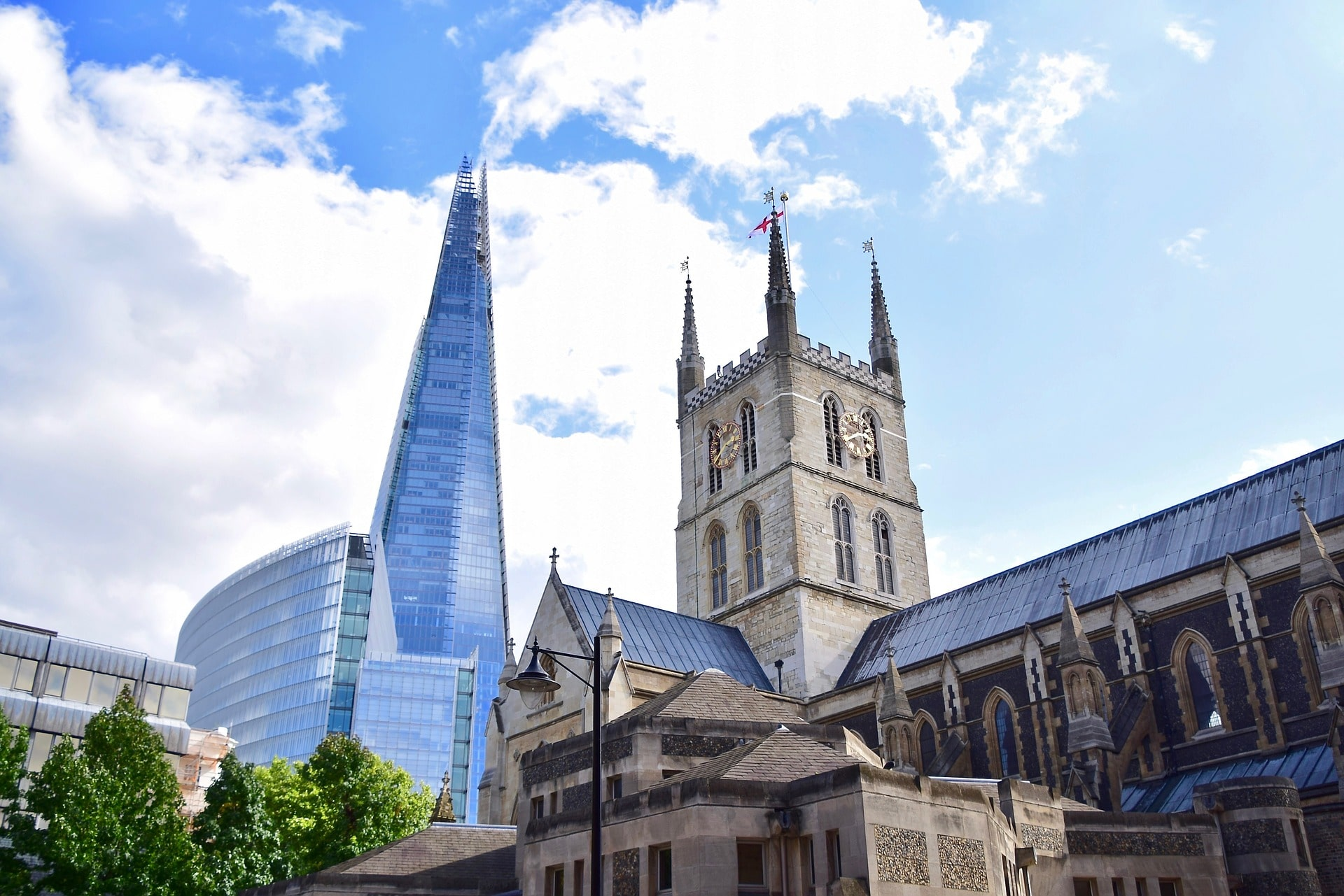 Southwark is where to stay in London if you're flying out of Gatwick
