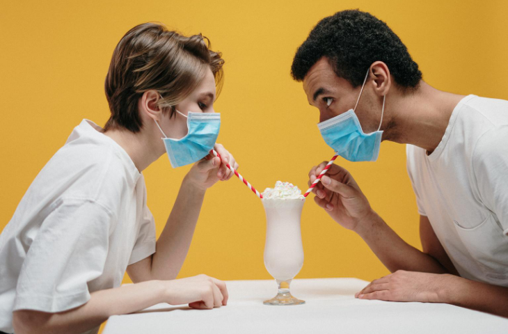 Milkshake mask testing