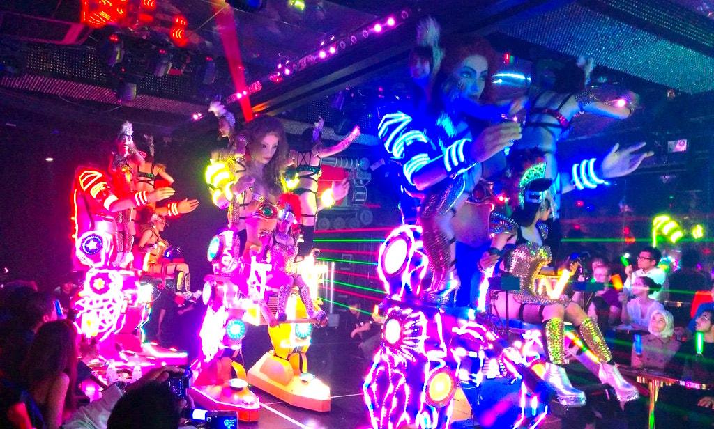 Robot restaurant must do in tokyo japan