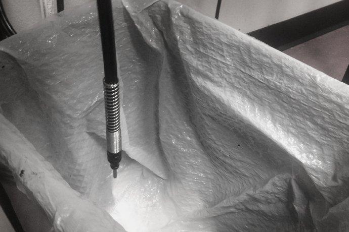 Flex shaft maintenance
