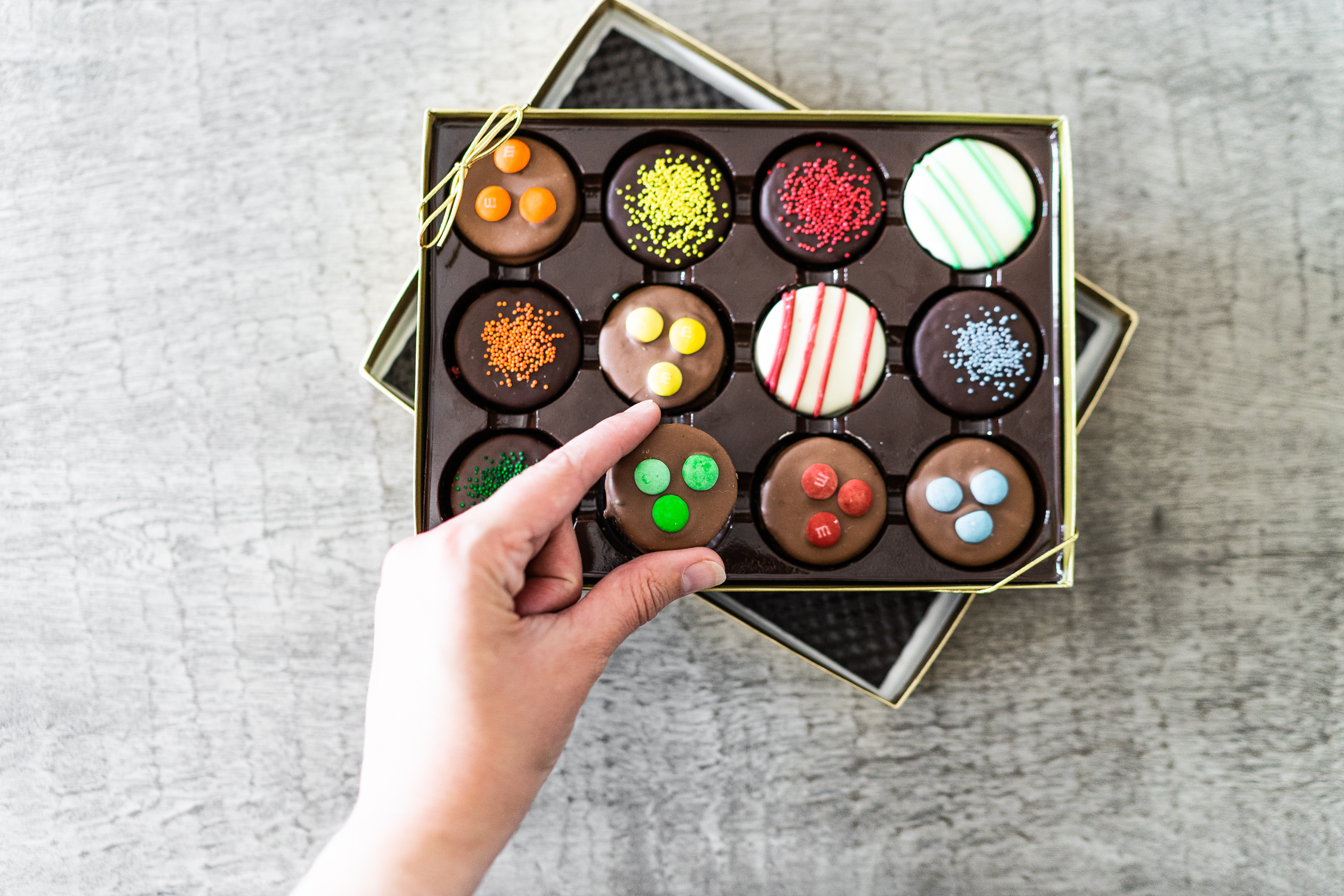 Men's chocolate covered gifts