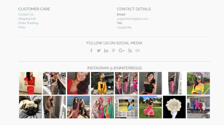 embed social media feed widget