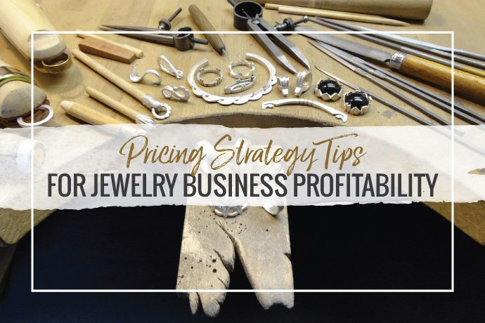 Michael David Sturlin is sharing his advice on jewelry pricing strategy for your small business. Help your jewelry studio grow with these tips.
