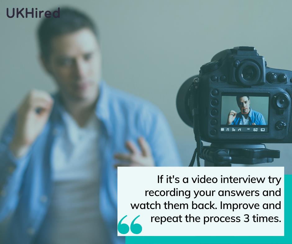 prepare for video interview