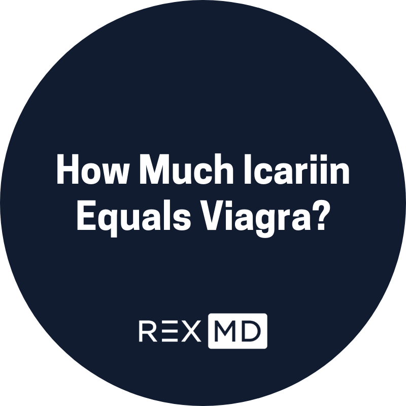 How Much Icariin Equals Viagra?