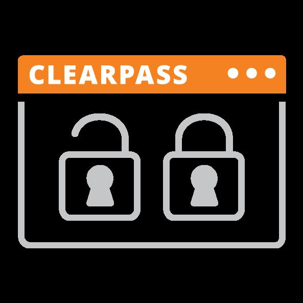 Aruba ClearPass logo
