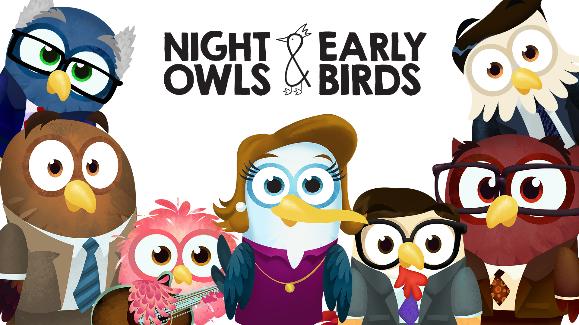 New Episodes of Night Owls and Early Birds!