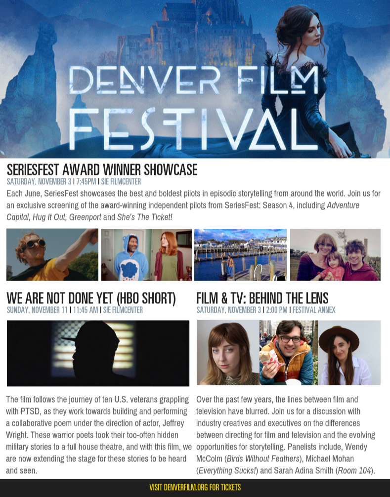 SeriesFest at DIFF