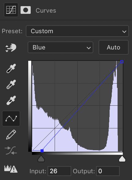 Curves tool snapshot