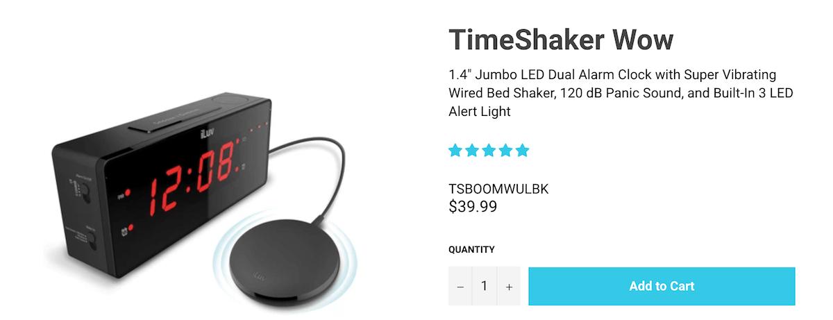 iLuv TimeShaker Wow