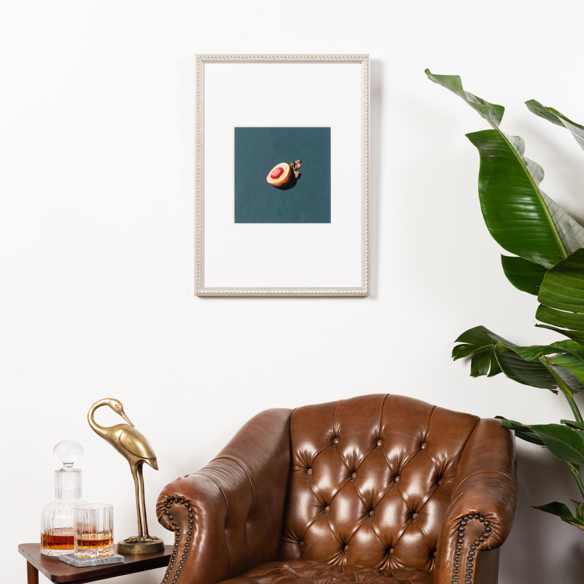 Framebridge Black Artists Print Shop Wulf Bradley Bullseye framed print dover frame