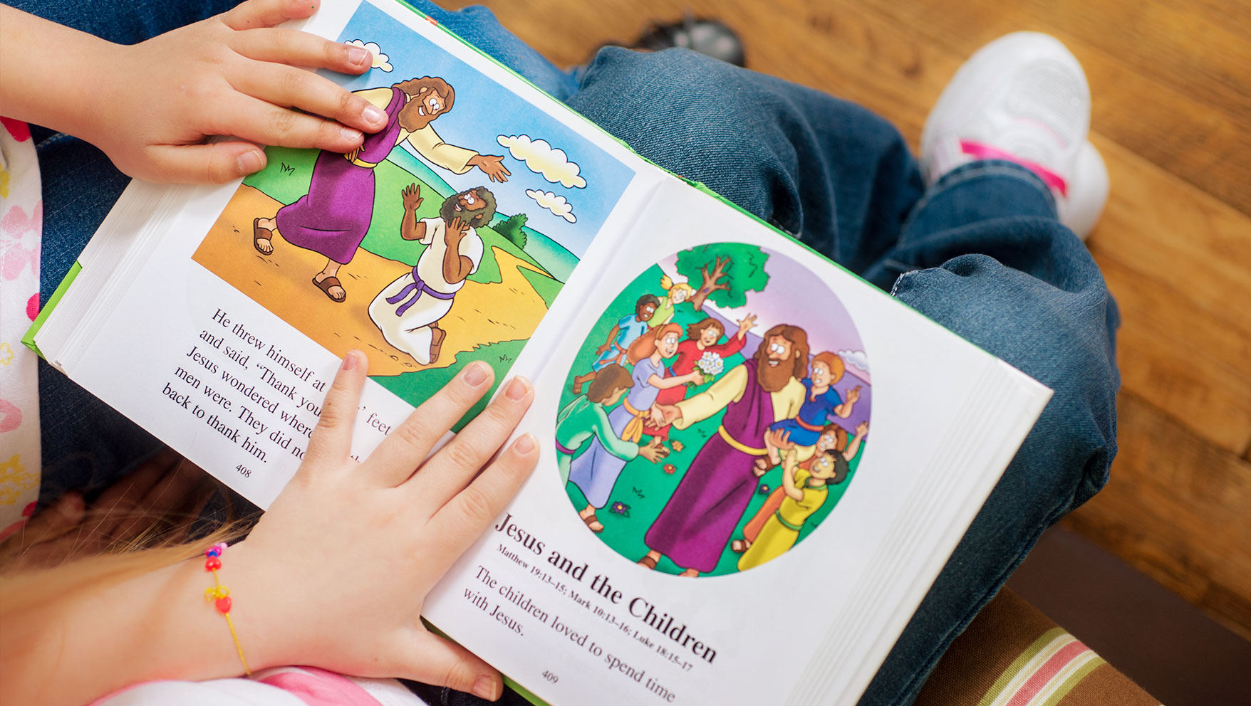 three bible stories that teach kids about encouragement