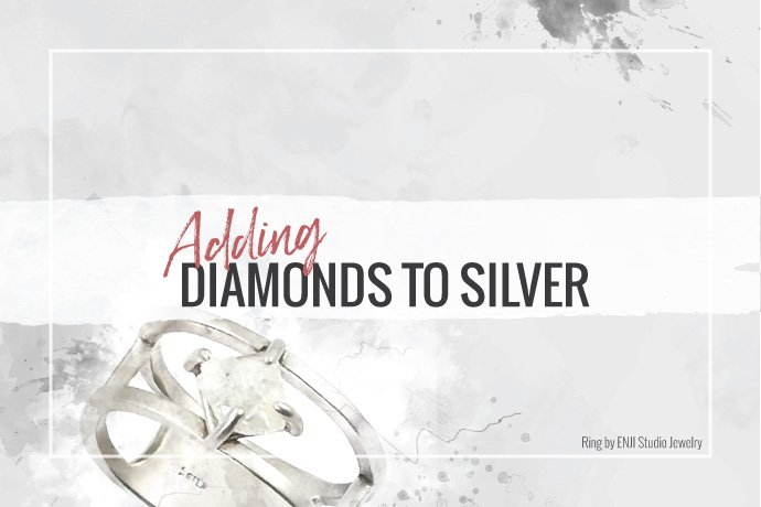 Add diamonds to your silver jewelry collection to increase perceived value and expand your potential customer base. Read advice from experienced jewelers.