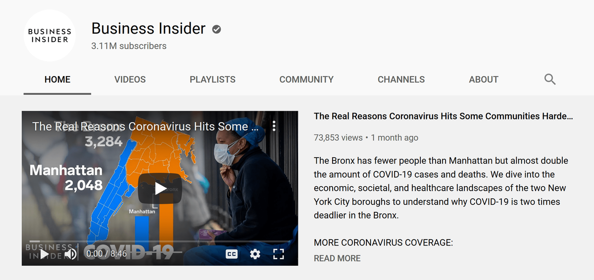 business insider youtube channel