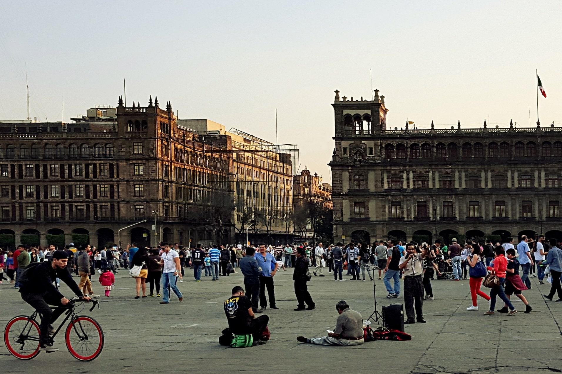 Zocalo in Mexico City