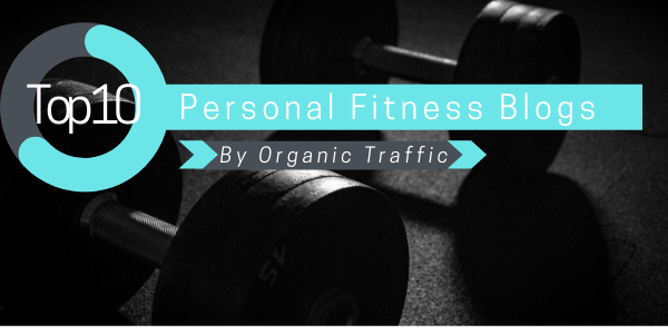 Top 10 Personal Fitness Blogs By Organic Traffic