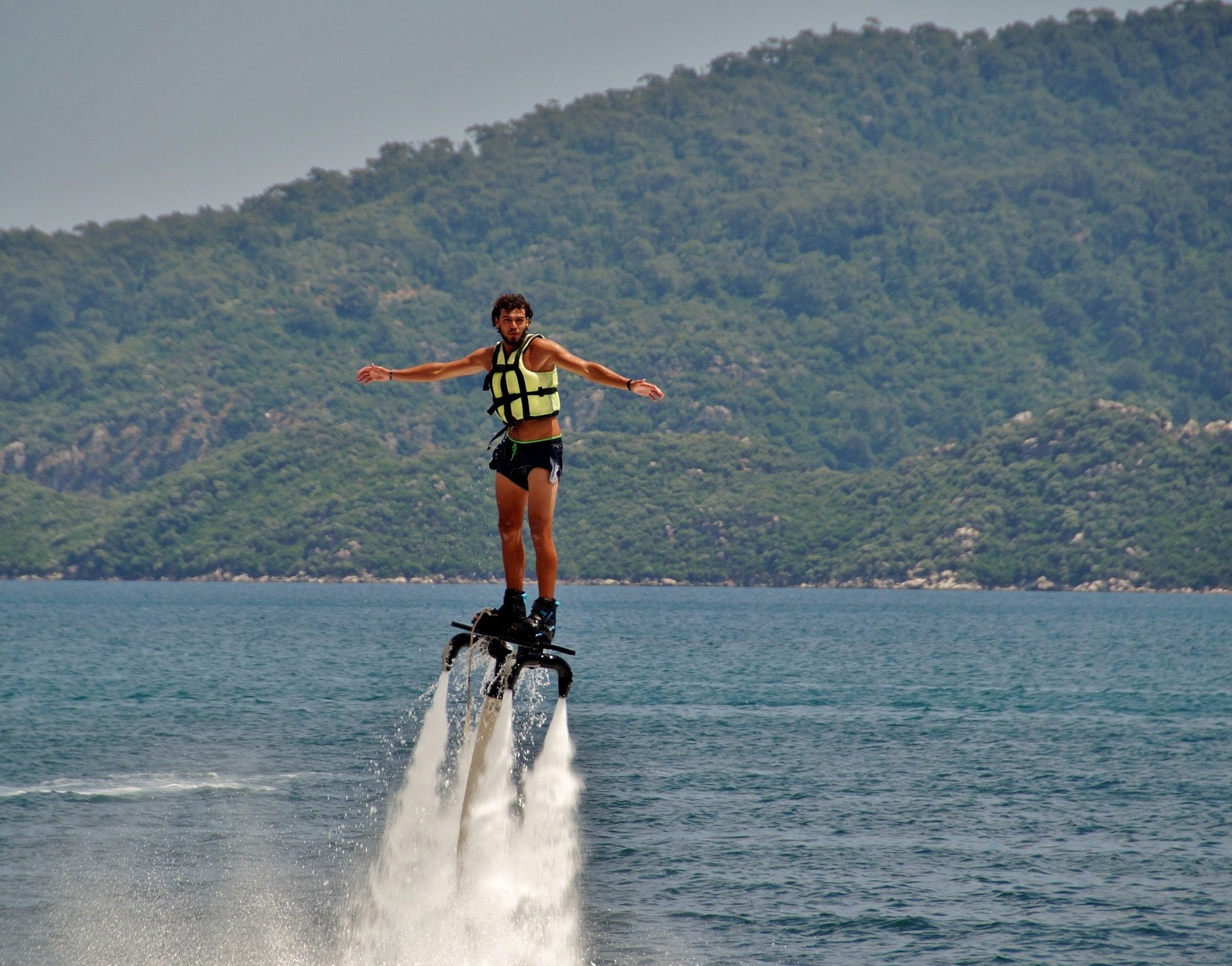 For an adventurous things to do in Puerto Rico try a flyboard