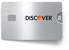 Discover-it Card Chrome Front Facing