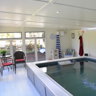 Case Study: Endless Pool Room with Hot Tub Area