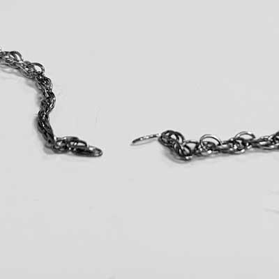 Drawn Broken Chain