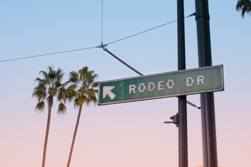 Window shopping along Rodeo Drive is a fun thing to do in LA