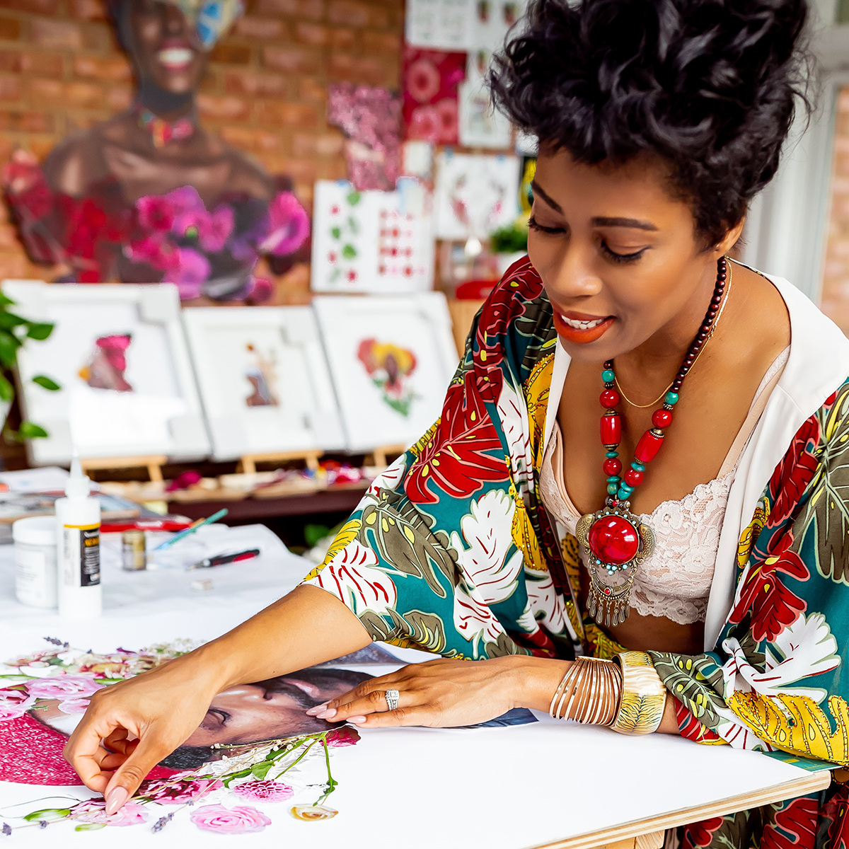 Framebridge Black Artists Print Shop Marryam Moma