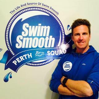 Swim coach Paul Newsome of SwimSmooth