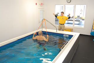 An Endless Pool in a Physical Therapy practice