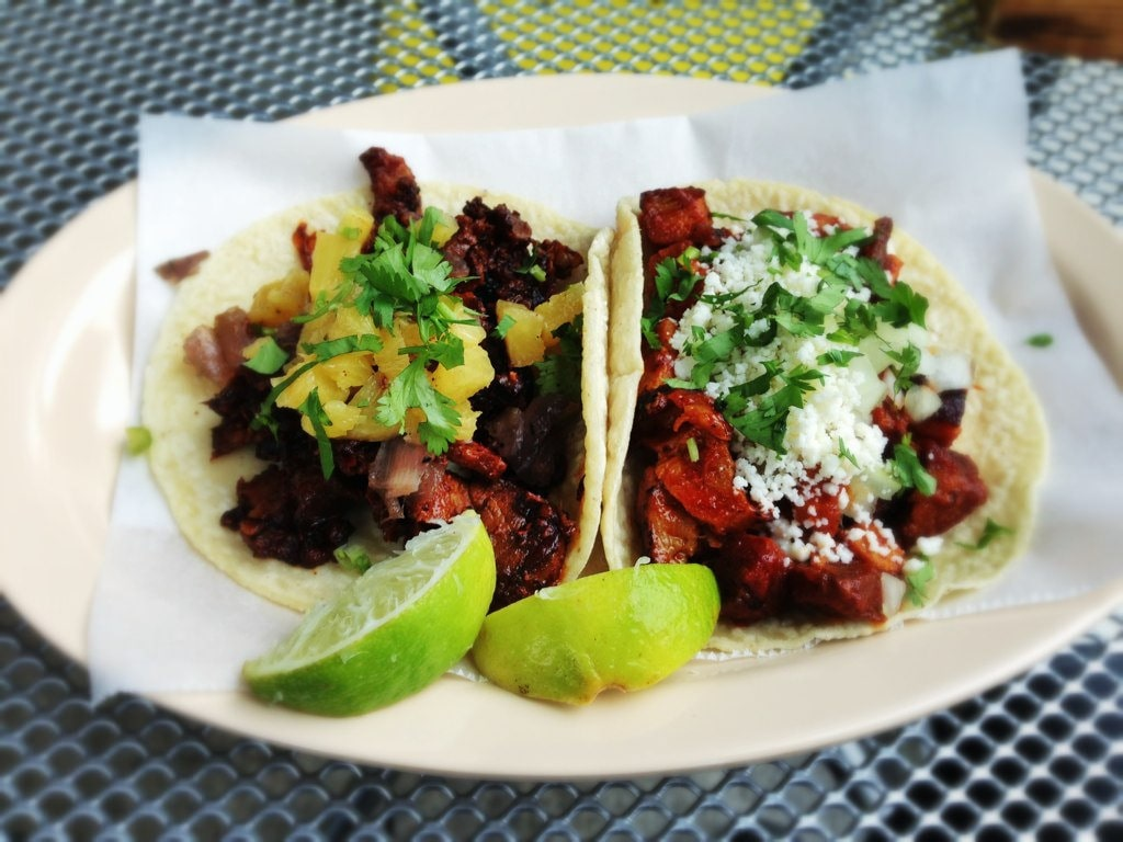 Tacos al Pastor in Mexico City