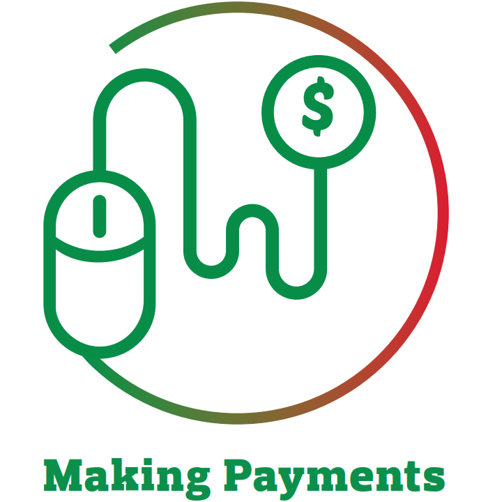 making payments icon