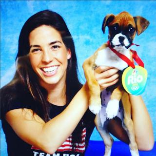 Olympic swimmer Maya DiRado