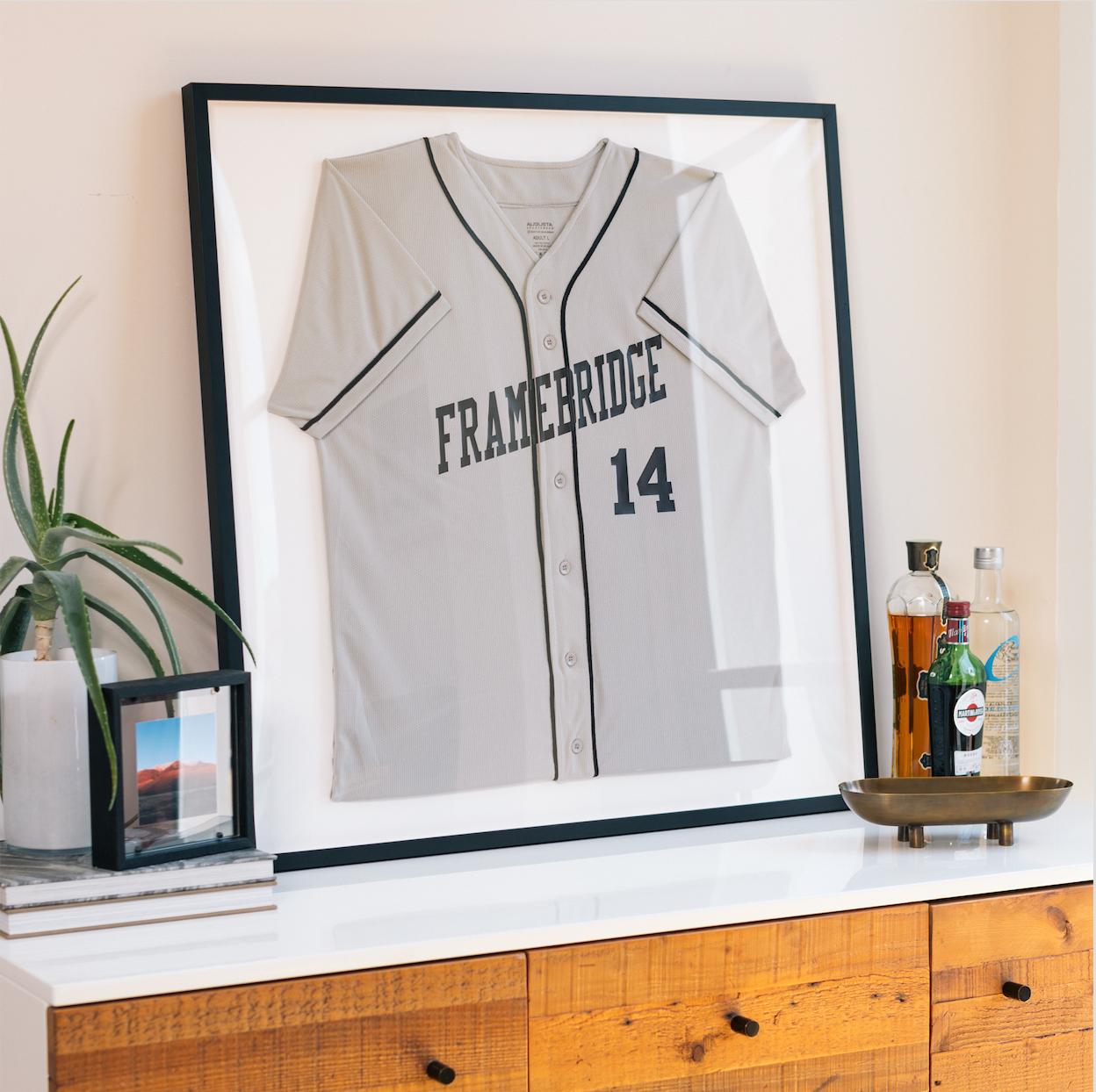 framed jersey