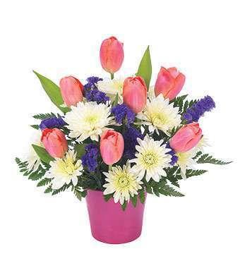 Sample Tulip Arrangement