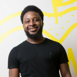 Huckletree Ambassador Jason Touray